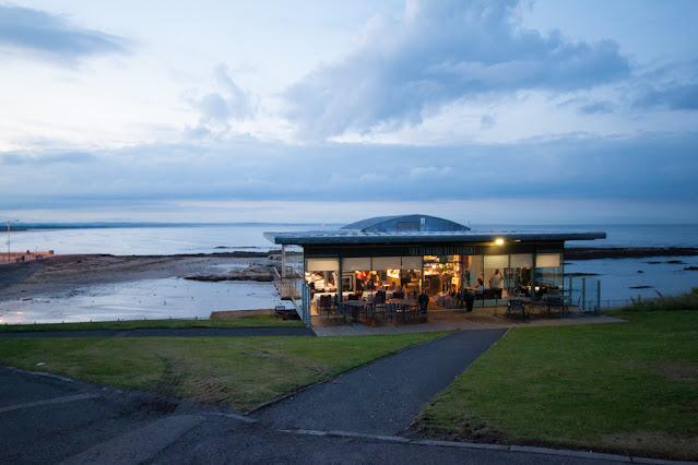 Cena al seafood restaurant-St Andrew's