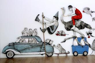 Expo : Everyday Life Circus, la grande parade street art de Levalet - Galerie Openspace - Jusqu'au 4 juin 2016