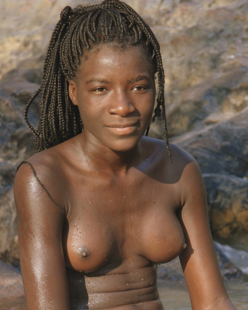 Remarkable, naked black african beachbabes