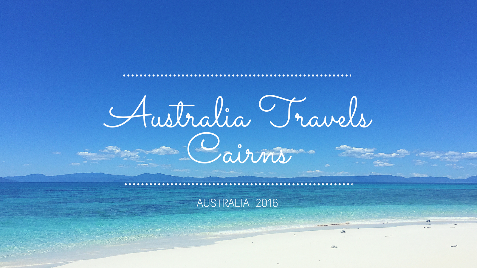 Cairns and Great Barrier Reef