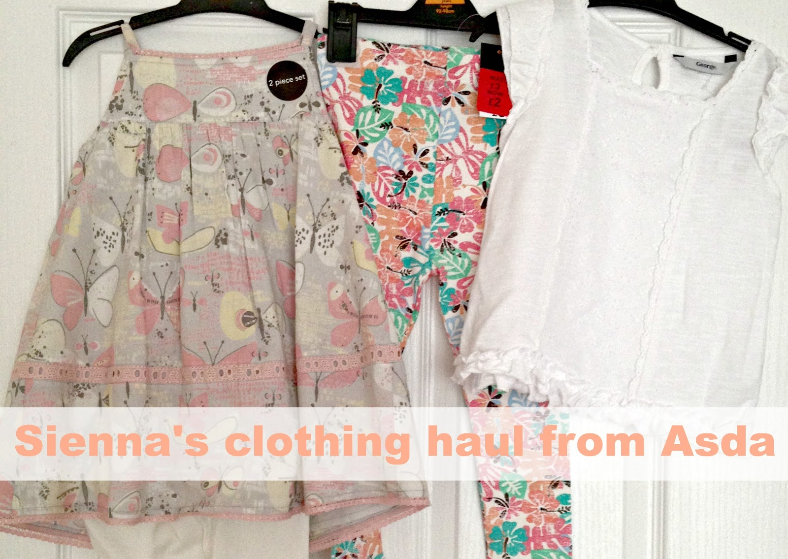 Sienna's clothing haul from Asda!