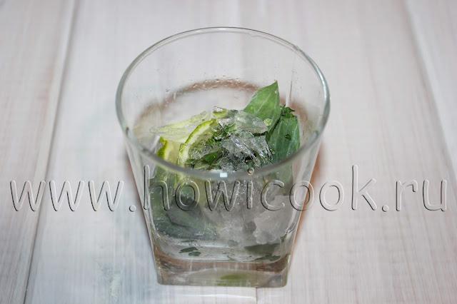 рецепт безалкогольного мохито с пошаговыми фото