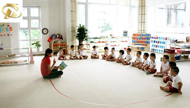 Trường mầm non tại HC Golden City