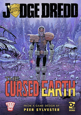 Osprey Games Announce Judge Dredd: The Cursed Earth!