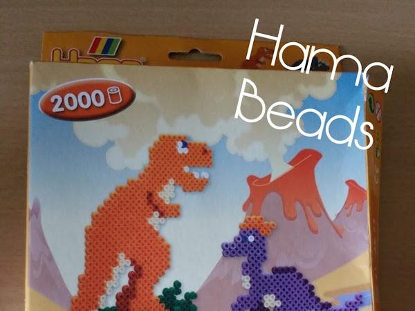 Hama Bead Dinosaurs