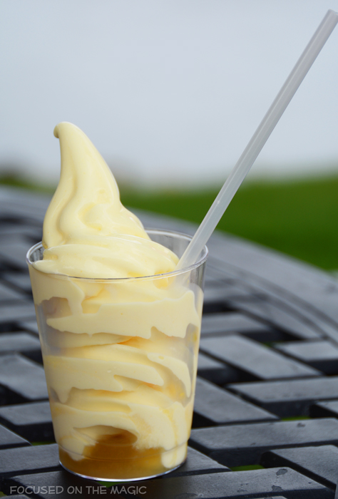 Dole Whip with Siesta Key Spiced Rum at Epcot's Flower and Festival