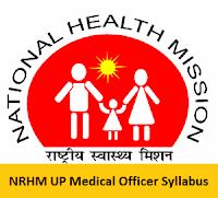 NRHM UP Medical Officer Syllabus