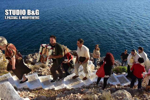 Ναύπλιο: Γιορτάζει το εκκλησάκι του Άγιο Νικολάου του κρασόκτιστου στη Καραθώνα