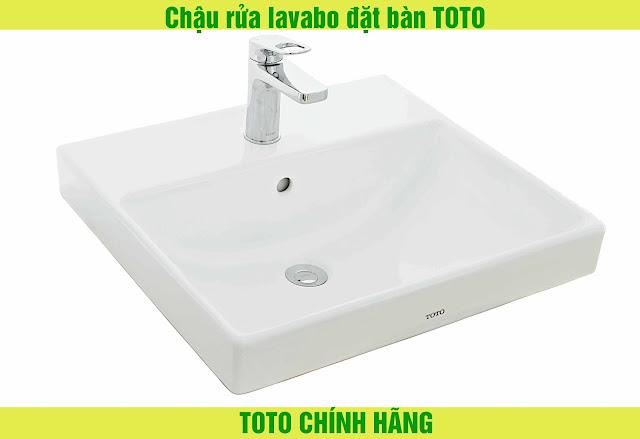 chậu rửa lavabo đặt bàn TOTO