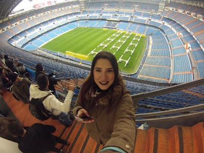 Estadio Santiago Bernabéu altura