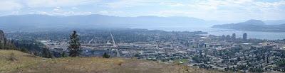 Panorama of Kelowna British Columbia