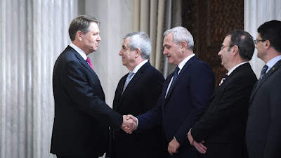 Călin Popescu Tăriceanu, kormányalakítás, PSD-kormányprogram, Klaus Iohannis, Liviu Dragnea, Sorin Grindeanu, Románia,