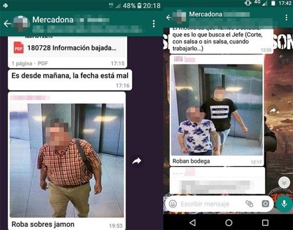Capturas de WhatsApp