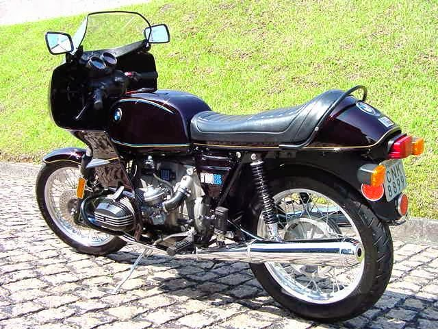 Nelson S Bmw Airhead Motorcycles Bmw 1977 R100rs Purple Buy It Now 25 000