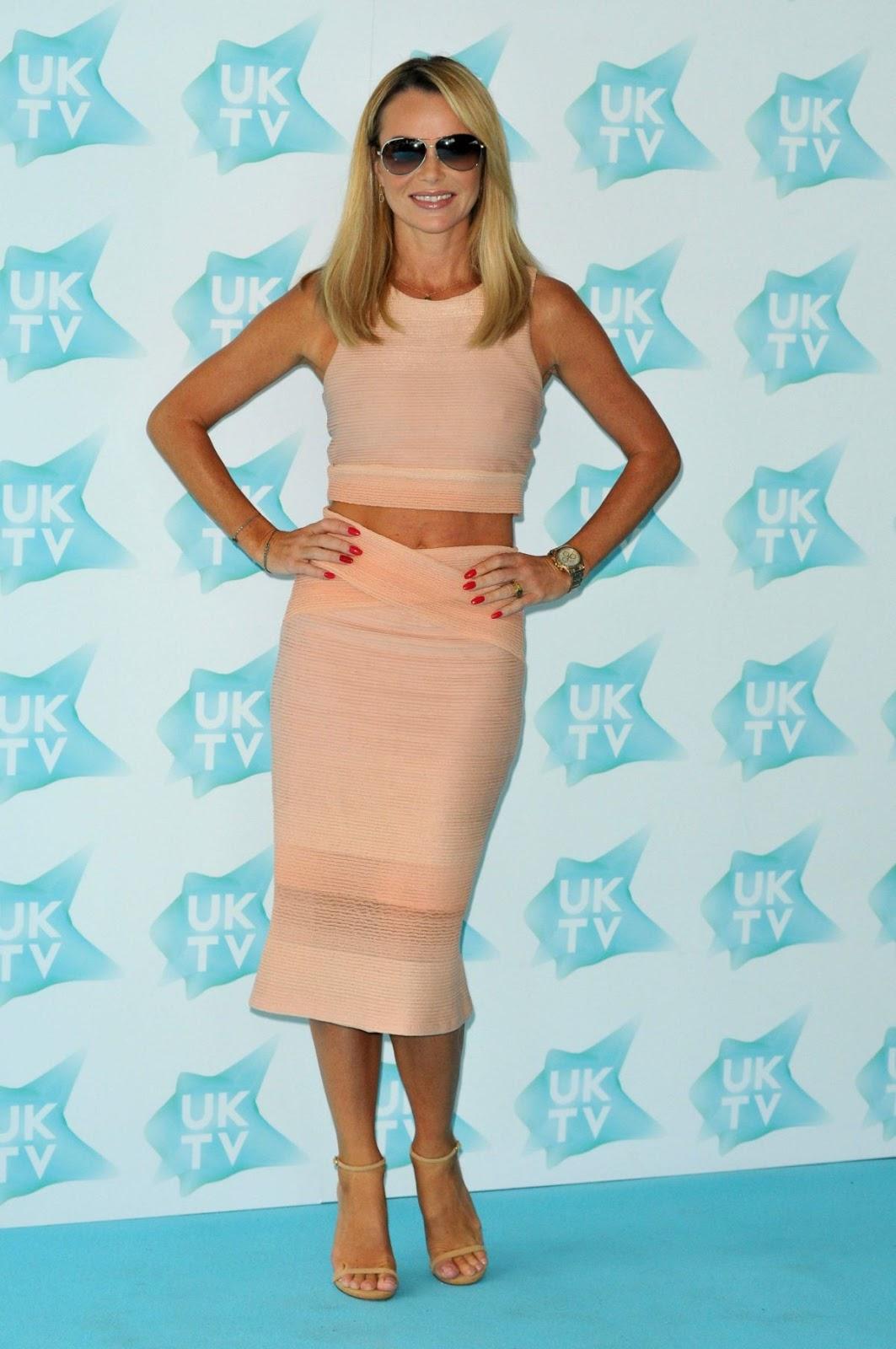 Britain's Got Talent judge Amanda Holden At UK-TV Live New Season Launch In London Hd Photos