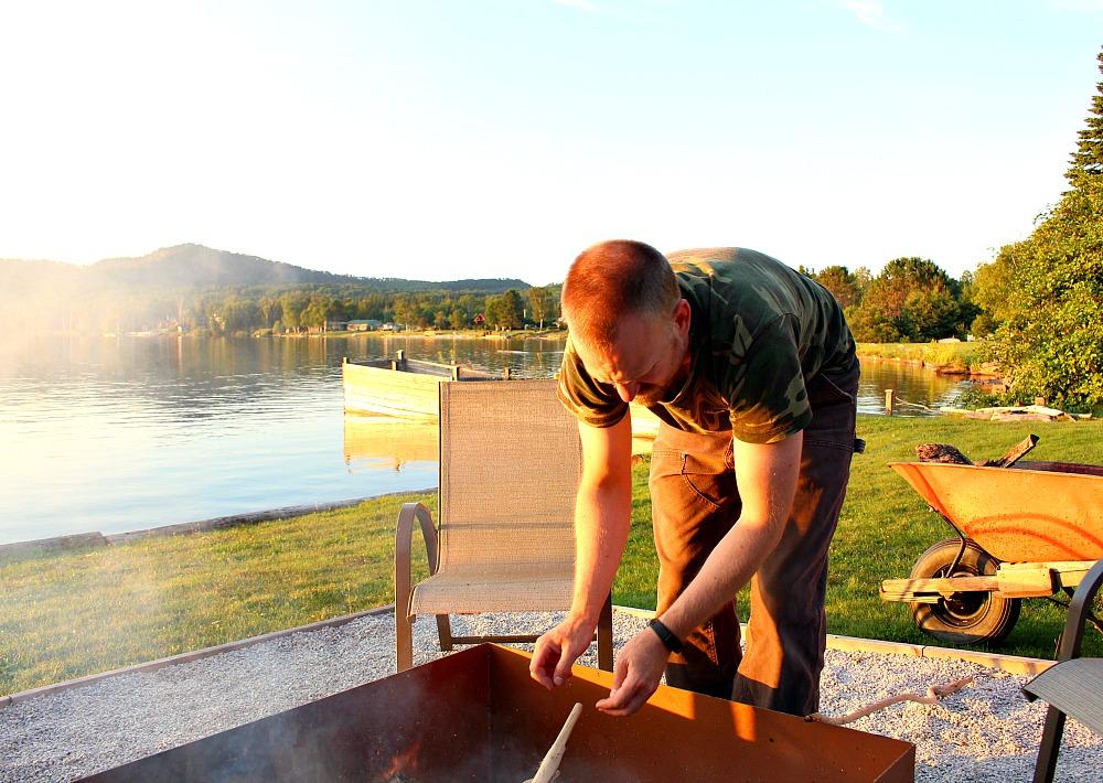 Lake Fire Pit