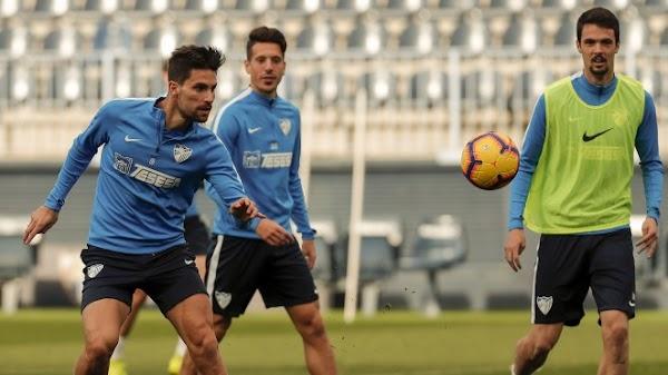 Málaga, el entrenamiento de hoy tuvo táctica y estrategia