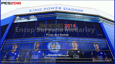 [PES 2016 PC] Leicester City Mod Graphic by Encep Suryana McCarley