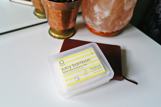 Kaia Naturals Juicy Bamboo Natural Facial Cleansing Oil Cloths review