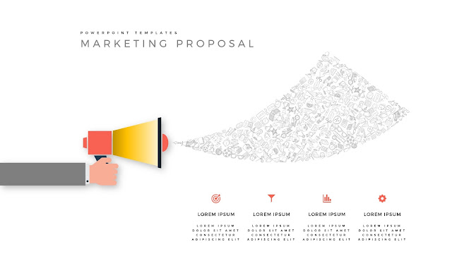 Marketing Proposal using Megaphone for PowerPoint Templates Slide 3
