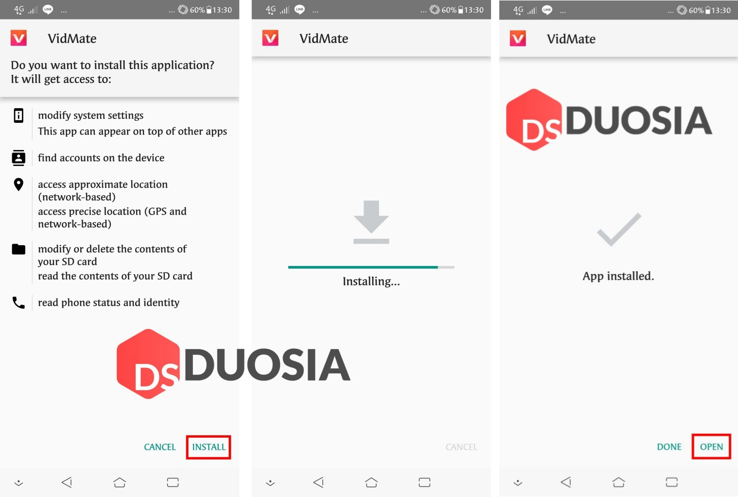 tutorial download video di vidio.com di android