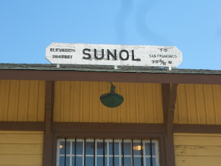 sunol california railroad station