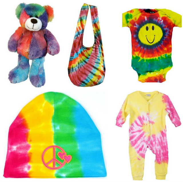 Super Groovy Tie-Dyed Baby Gear {hippie baby gifts under $30}. Hippie baby. Hippie mama. Hippy mama. Tie dyed baby clothes. hippie baby stuff hippie baby gifts hippie baby clothes online bohemian baby clothes newborn hippie clothes hippie baby gifts baby hippie costume baby retro clothes infant hippie costume