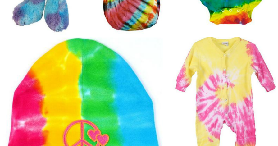 Baby Gifts For Hippie Parents : Quirky bohemian mama super groovy tie dyed baby gear