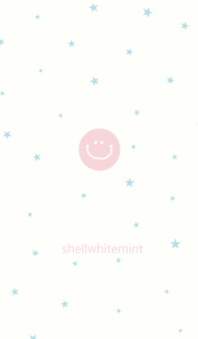 Shell white and mint