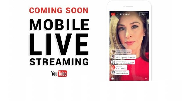 YouTube Live Streaming arrive sur mobile pour la diffusion de vidéo en direct