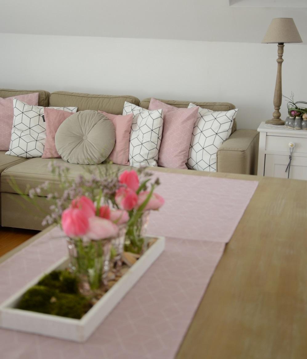 Wohnzimmer Rosa Beige   Us 38 88 Moderne Beige 3d Geprägte Anlage ...