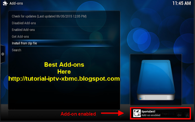 how to watch live spots on kodi
