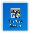 the web blocker shortcut