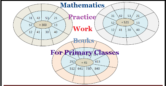 Maths TLM Practice Work Books Puzzles Number Magics Download Here | Mathematics Work Books for Primary Classes Download here | TLM for Mathematics which helps teachers in Class room | Mathematics Practice Books Download | Maths Puzzles Download | Download Printed Practice Work Books for Mathematics here maths-tlm-practice-work-books-puzzles-download