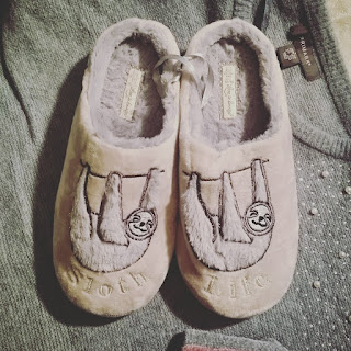 Primark sloth slippers
