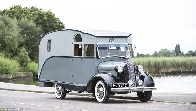 La primera autocaravana britànica