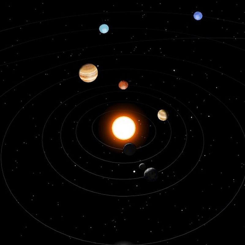Interactive 3D Solar System Scope | saxeovitae