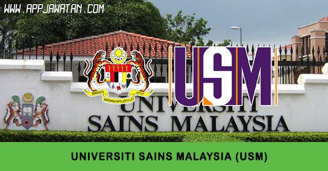 Jawatan Kosong di Universiti Sains Malaysia (USM).