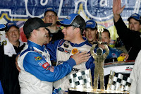 David Ragan won the Talladega race thanks to Gilliland,