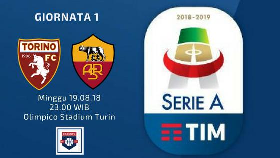 Streaming Torino vs AS Roma