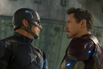 "Chris Evans and Robert Downey Jr., ""Captain America: Civil War"" Review"