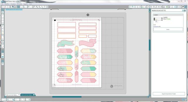 Come utilizzare i file dxf nella modalità Print & Cut | Silhouette Cameo 10