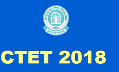 CTET 2018 Apply Online @ctet.nic.in before 27 August