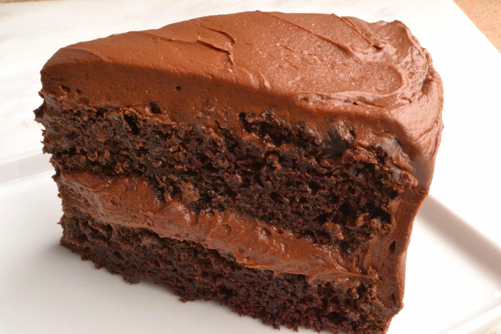 Deep Dark Chocolate Cake Recipe