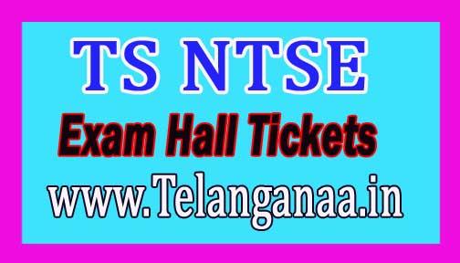 Telangana TS NTSE 2017 Hall Tickets Download