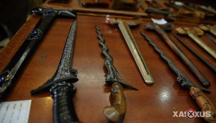 Senjata tradisional Indonesia - Senjata tradisional Jawa Tengah (Keris)