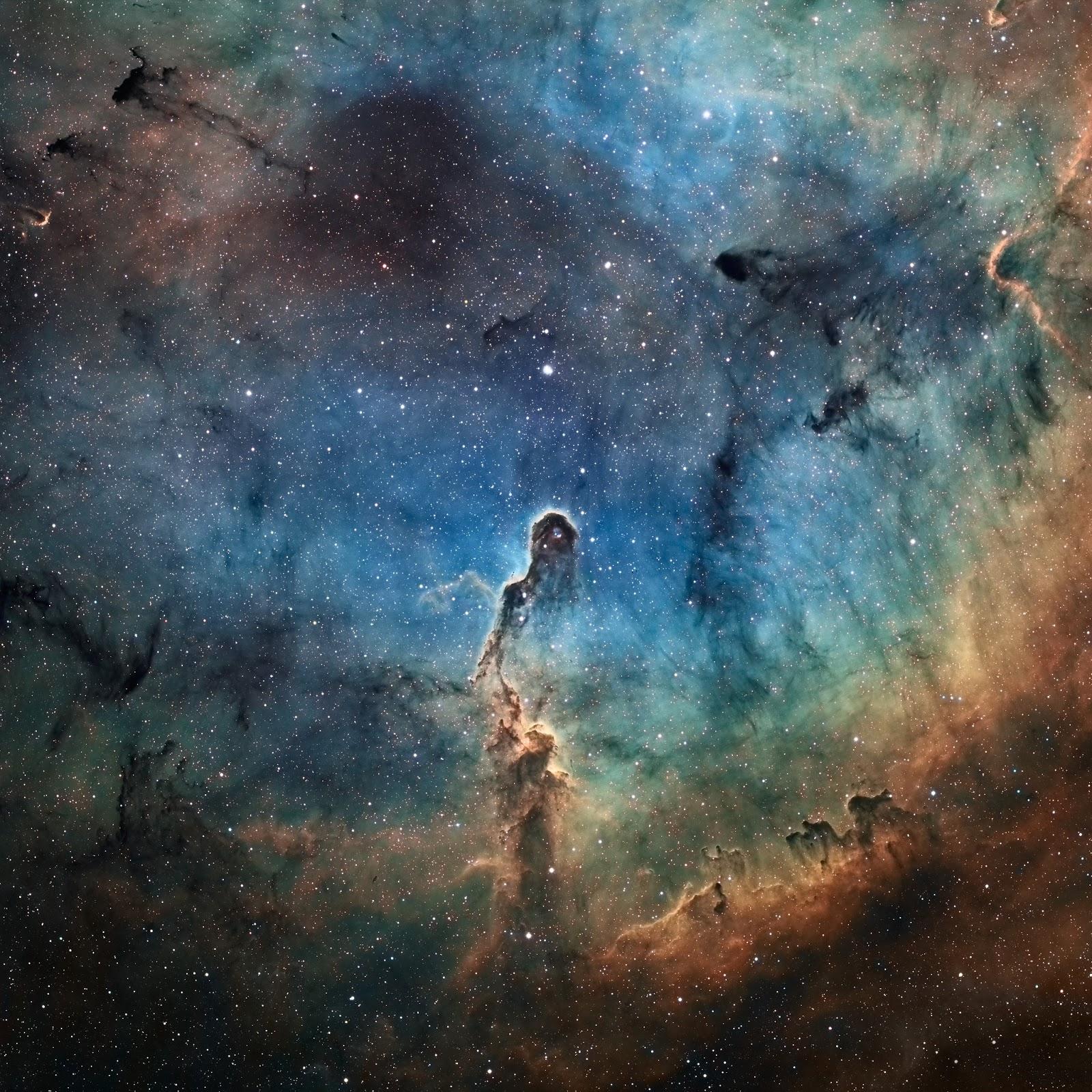 Elephant's Trunk Nebula   Earth Blog