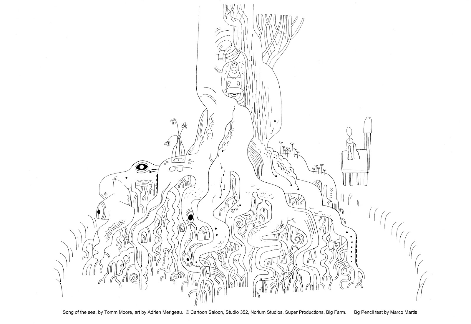 marcomart.backgrounds: Song of the sea, by Tomm Moore, art