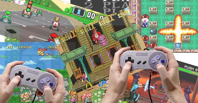 Experiências multiplayer no Super Nintendo