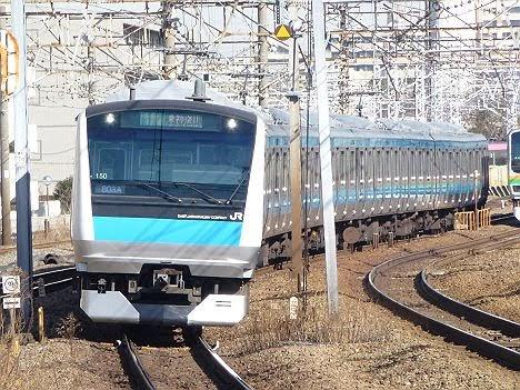 京浜東北線 各駅停車 東神奈川行き E233系